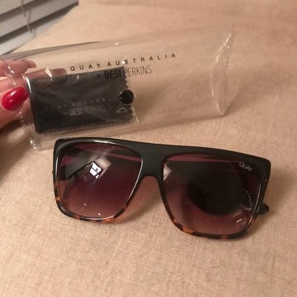 14cf1c82b8e Quay x Desi OTL II Sunglasses NEW